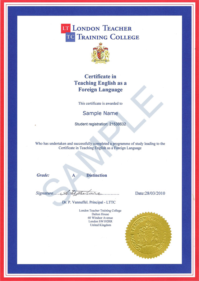 About lttc lttc sample certificate yadclub Gallery